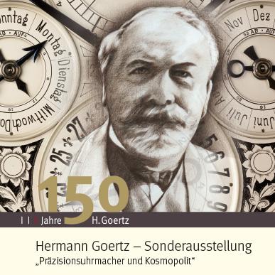 2012_Ausstellung_Hermann Goertz_Präzisionsuhrmacher und Kosmopolit