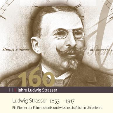 2014_Ausstellung_Ludwig Strasser_Ein Pionier der Feinmechanik und wissenschaftlichen Uhrenlehre