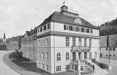 Gebäude nach Erweiterung 1923
