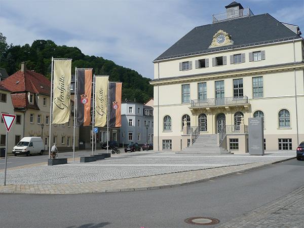 Museum mit Vorplatz 2008